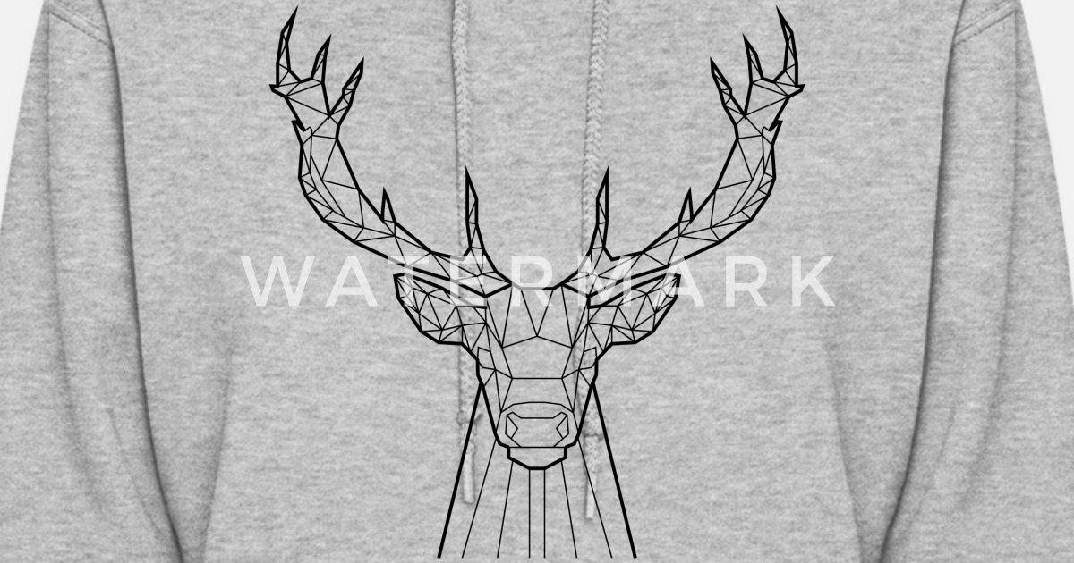 3cb5ba4da9 Black Deer - Animal Prism Women s Hoodie