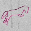 horse, riding - Women's Hoodie