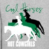 Cool Horses - Hot Cowgirls - Women's Hoodie