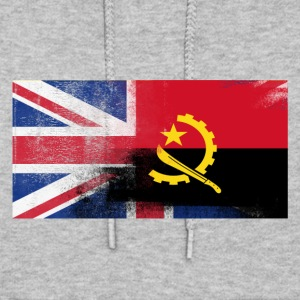 British Angolan Half Angola Half UK Flag - Women's Hoodie