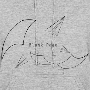 Blank Page Papers Flying - Women's Hoodie