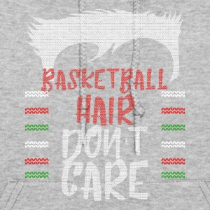Ugly sweater christmas gift for Basketball - Women's Hoodie