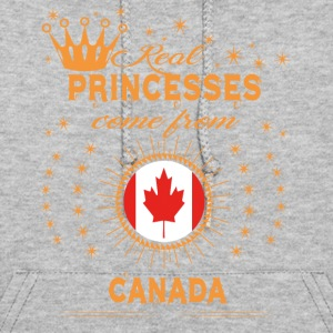 love princesses come from CANADA - Women's Hoodie
