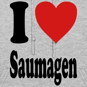 I love Saumagen (variable colors!) - Women's Hoodie