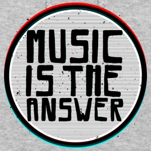 Music is the answer - Women's Hoodie
