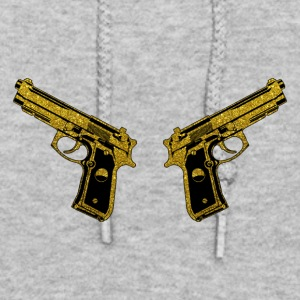 Golden Gun - Pistol Weapon Fire Ammo - Women's Hoodie