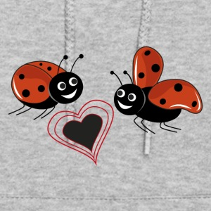 ladybird in love with earth - Women's Hoodie