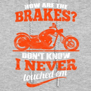 Distressed - Motorcycling without using the brakes - Women's Hoodie