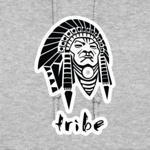 Tribe No. 3 (Native American w/Outline) - Women's Hoodie