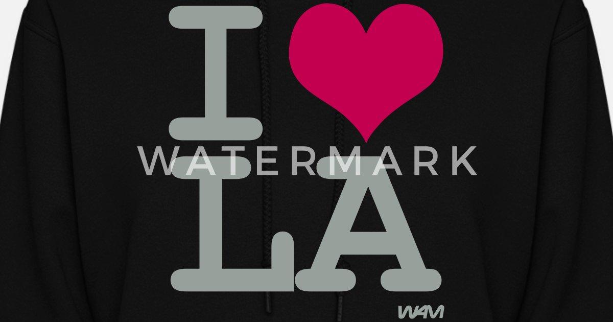 bbfd79c5ec3 i love LA by wam Women s Hoodie