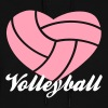 volleyball heart volleyball - Women's Hoodie