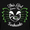 Limited Edition: This Girl Loves Seahawks - Women's Hoodie