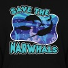 Save The Narwhals Shirt - Women's Hoodie