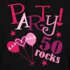 50 Rocks Birthday Party - Women's Hoodie