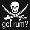 Got Rum? Skull and Swords Pirate Design - Women's Hoodie