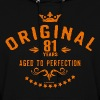 Original 81 years aged to perfection - RAHMENLOS birthday gift - Women's Hoodie