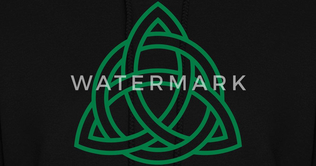 Celtic Knot Triquetra Trinity Irish Patricks Day By Yuma Spreadshirt