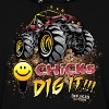 Chicks Dig It Mud Truck - Women's Hoodie