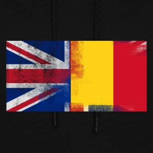 British Romanian Half Romania Half UK Flag - Women's Hoodie