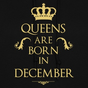 Queens are born in December - Women's Hoodie