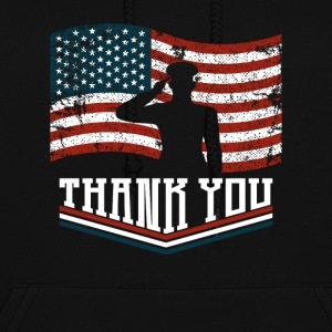 Thank You Veterans Day Gift - Women's Hoodie