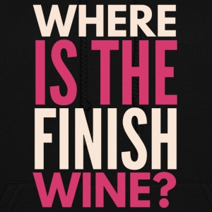 Where is the finish wine? - Women's Hoodie
