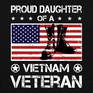 Proud Daughter Of A Vietnam Veteran tshirt - Women's Hoodie