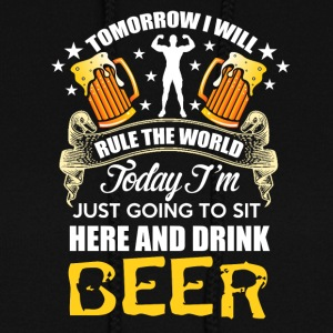 BEER - Relax and rule the world tomorrow - Women's Hoodie