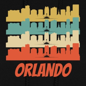 Retro Orlando FL Skyline Pop Art - Women's Hoodie