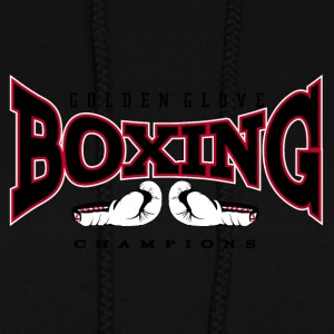 Boxing champion gloves - Women's Hoodie