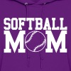 Softball Mom Design - Women's Hoodie