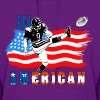 All American Football Field Goal Kicker - Women's Hoodie
