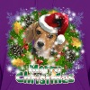 Dog Lover Merry Christmas Beagle - Women's Hoodie