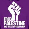 Free Palestine End Israeli Occupation - Women's Hoodie