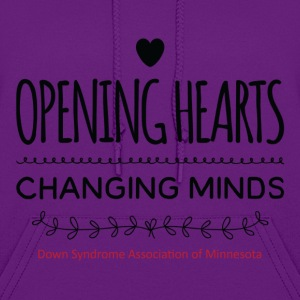 Opening Hearts Changing Minds - Women's Hoodie