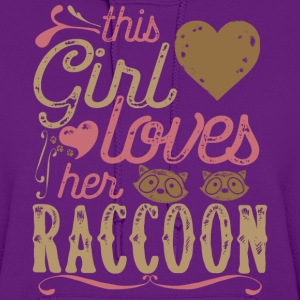 This Girl Loves her Raccoon