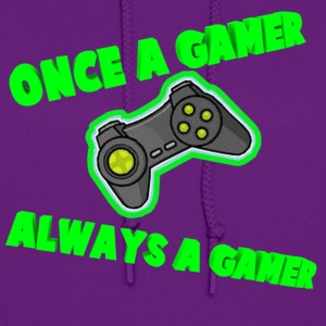Once A Gamer Always A Gamer - Women's Hoodie