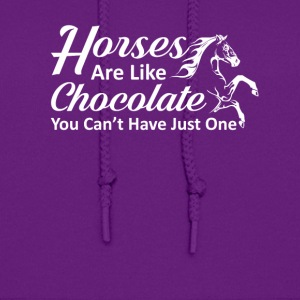 Horses Like Chocolate You Cant Have One - Women's Hoodie