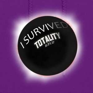I Survived Totality. I saw Totality. Total Eclipse - Women's Hoodie