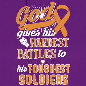 Hardest Battles To His Toughest Soldiers T Shirt - Women's Hoodie