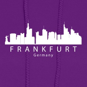 Frankfurt Germany Skyline - Women's Hoodie