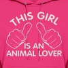 animal lover - Women's Hoodie