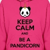 Keep Calm And Be A Pandicorn - Women's Hoodie