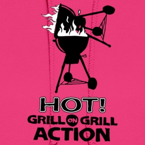 Hot Grill on grill action - Women's Hoodie
