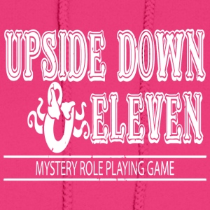 Upside Down and Eleven - Women's Hoodie