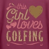 This Girl Loves Golfing Golf - Women's Premium Hoodie