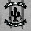 Go sit on a cactus - Women's Premium Hoodie