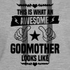 Awesome Godmother Looks Like - Women's Premium Hoodie