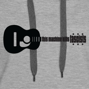Music kills Fascism - Women's Premium Hoodie