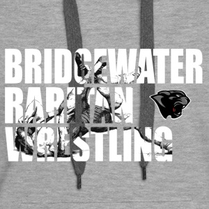 BR Panther Wrestling Cut-Out - Women's Premium Hoodie